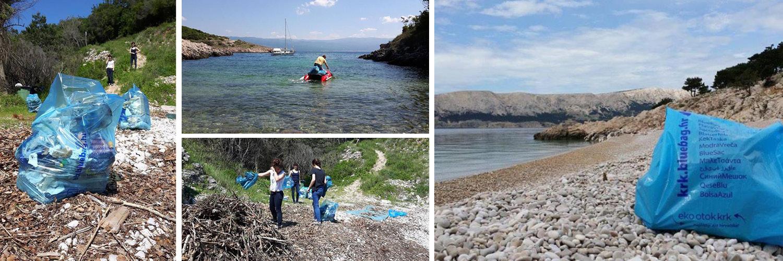 Skupljanje otpada po plažama
