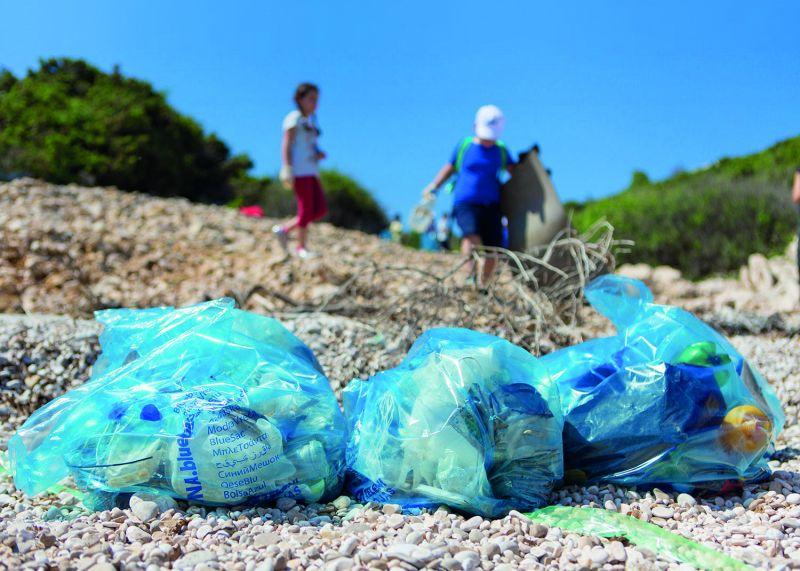 Plava vreća - akcija
