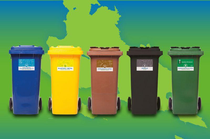 """Sustav zbrinjavanja otpada """"Od vrata do vrata"""" - kante"""
